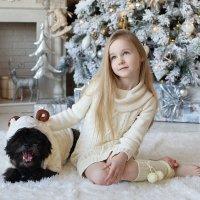 Тася и пес в овечьей шкуре :: Виктория Иванова