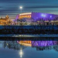 Коломна. Вид на конькобежный центр. :: Igor Yakovlev