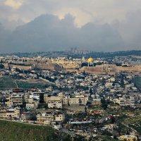 Дождливый Иерусалим... :: Alex S.