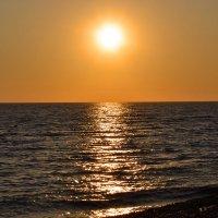 Закат. Адлер, Черное море :: Николай В