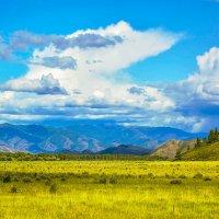 Облака над Саянами :: юрий Амосов