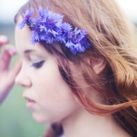 Цветы неба :: Юлия Поджидаева