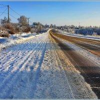 зимняя дорога :: Дмитрий Анцыферов