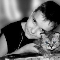 Я и мой кот :: Елена ТАРАСЕНКО