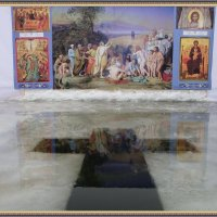 Крещенская вода. :: Святец Вячеслав