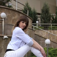 девушка в белом :: Ksenia Sun