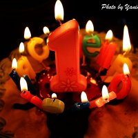 первый день рождения! :: Yana Odintsova