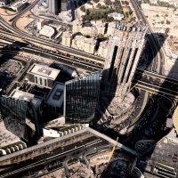 Вид с  Бурдж Дубай :: Валентина Потулова