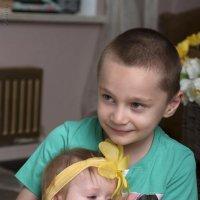 Брат с сестрой :: Янина Ермакова