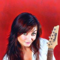 Девушка с гитарой :: Светлана Трофимова