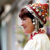 Мама на чувашской свадьбе :: Юна Кулаковская