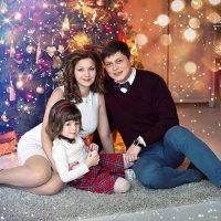 Новогодняя семейная фотосессия :: Марина Матвеева