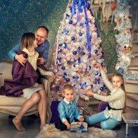 Семейная фотосессия в студии :: Марина Матвеева