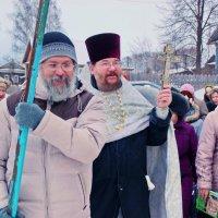 Иордань в Ильинском на Обве :: Валерий Симонов