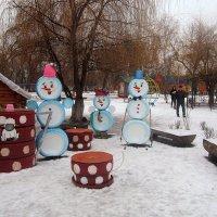 В детском парке :: Андрей Сотников