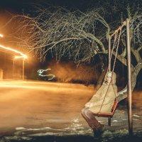 зимний вечер :: dron