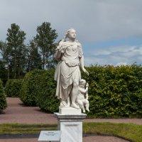 """Ораниенбаум. Статуи ансамбля Большого дворца. Скульптура """"Воздух"""" :: Алексей Шаповалов Стерх"""