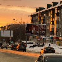 Барнаул, закат :: Денис Будников