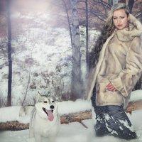 зима :: Елена Дмитриева