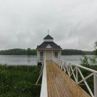 Монастырская купальня на Покровском озере :: Елена Павлова (Смолова)
