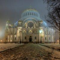 Ночь.Туман.Собор. :: Сергей Григорьев
