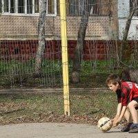 Вратарь. :: Валерия  Полещикова