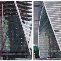 Москва - Сити строится :: Анастасия Смирнова