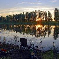 Вечерняя  рыбалка. :: Валера39 Василевский.