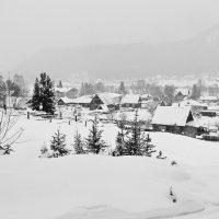 Зима в Иогаче :: Елена Баскакова