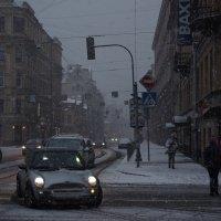 Вечер.Снег. :: Вячеслав Крапивин