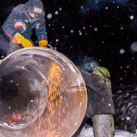 Ремонт газопровода :: Владимир Бобришев