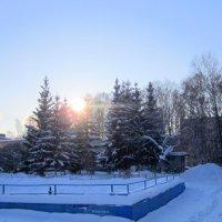 Мороз -35 и солнце . :: Мила Бовкун
