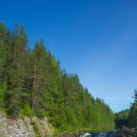 Водопад Кивач :: Александр Кореньков