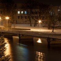 Ночной город замер в ожидании чуда :: Виталий Старков