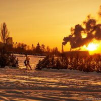 Морозный субботний вечер :: Евгений Никулин