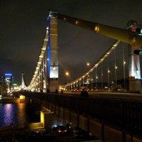 Крымский мост, ночь :: Борис Соловьев