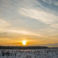 январский закат! :: Маry ...