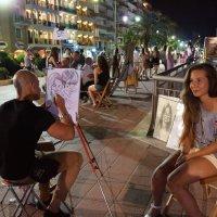 Испания, уличный художник :: Оксана Ветрова