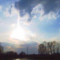 Солнце спрятолось за тучку . :: Алла Мещерякова