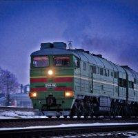 Старый Оскол-Москва :: Михаил Фенелонов
