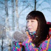 Снежное солнце :: Ольга Сократова