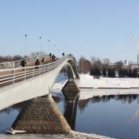 Горбатый мост на торговую сторону :: Александр Башлыков