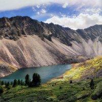 Озеро в истоках Золотого :: Виктор Никитин