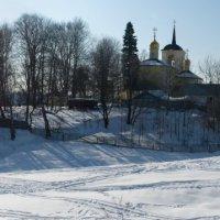 Храм Рождества Хритстова в Осташково :: Яков Реймер