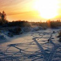 Красивый закат - еще один повод пойти на рыбалку :: Светлана Ложкина