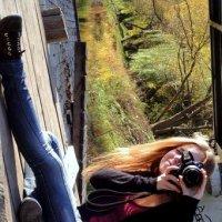 Девушка с фотоаппаратом. :: Марина Фанина