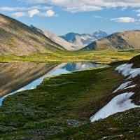 На озере Большое Балбанты :: Алексей Вуколов