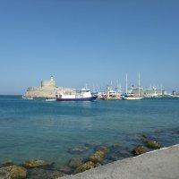 Порт Родоса, Греция :: Елена Лукожева