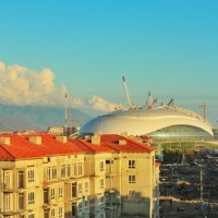 Sochi stadium :: Anton Semykin