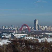 Вид на Москву с Крылатских холмов. :: Yuri Chudnovetz
